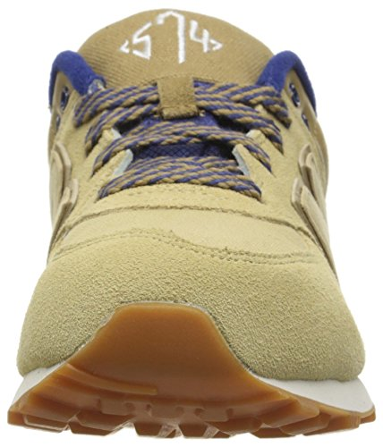 New Balance Kl574nwp-574, Sneakers Hautes Mixte Enfant Tan