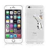 Disney La Reine des neiges Coque souple transparente en TPU pour Apple iPhone 5/5S et...