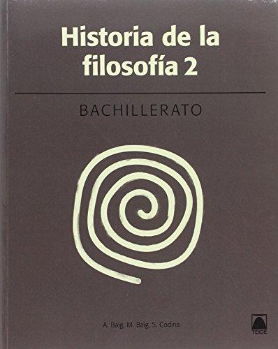 Historia de la filosofía 2. Bachillerato (2016) - 9788430753673