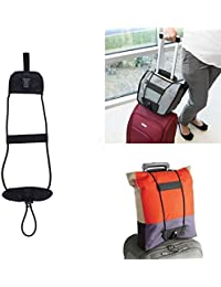 1pc Luggage Bag Strap Suitcase Adjustable Belt Carry On Bungee Bag Parts Case Travel Accessories Supplies Gear...