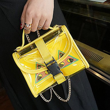 Frauen Handtasche PU Formal Casual Event / Party Hochzeit Büro & Karriere Tasche Sets Black