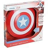 Philips Marvel Captain America LED Wandleuchte 3D, rot, 915005309601