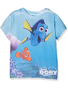 Disney Mädchen T-Shirt Finding Dory Kids Sub T Marlin And Dory