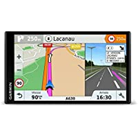 Garmin DriveSmart 61LMT-S 6.95-inch Sat Nav with Lifetime Map Updates for UK, Ireland and Full Europe, FREE Live Traffic and Built-in Wi-Fi