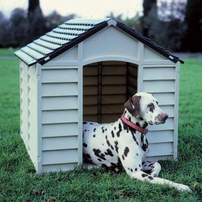 Hundehütte Hunde-Hütte Hundehaus aus Kunststoff