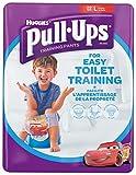 Huggies Pull-Ups - Calzoncillos de aprendizaje, talla 6, niños, 22 unidades