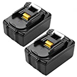 Lot de 2 batteries de rechange au lithium pour Makita LXT 18 V Cordless Brushless Drill Driver DDF083 DDF458 DDF459...
