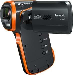 Panasonic HX-WA3 Caméra vidéo zoom 5 x Gris, Orange