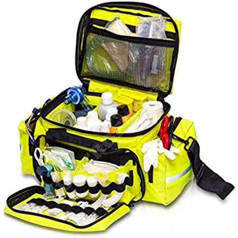 Bolsa ligera de emergencias pediatrica , amarilla