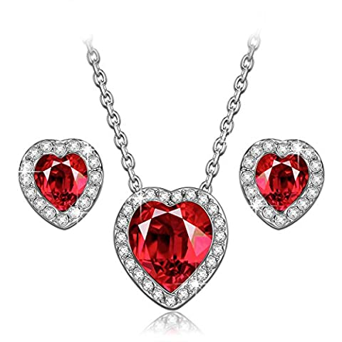 LADY COLOUR Passion Bijoux Parure Femme Collier Boucles d