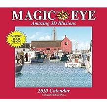 Magic Eye: Amazing 3D Illusions: 2010 Wall Calendar by Inc. Magic Eye (2009-07-15)