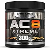 AC8 Xtreme - Fruit Punch | Hardcore Pre-Workout Supplement | 20-40 Servings | 100% Money Back Guarantee | 300 grams