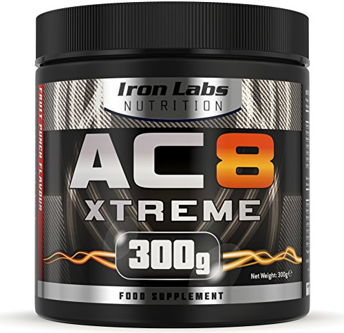 Find eBook Iron Labs Nutrition, AC8 Xtreme (Fruit Punch) – Pre-Workout Supplement, 300 grams FB2