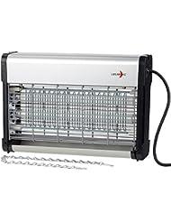Lunartec Insektenkiller: UV-Insektenvernichter IV-520 mit austauschbarer UV-Röhre, 23 Watt (Elektrischer Fliegenfänger)