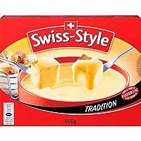 Fondue-Käse 'Swiss Style' von MIFROMA - 2x 400g, Vacherin Fribourgeois und aus Greyerzer, für einen gemütlichen Fondue-Abend