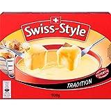 Produkt-Bild: Fondue-Käse 'Swiss Style' von MIFROMA - 2x 400g, aus Emmentaler, dem Greyerzer (Gruyère) und dem Tilsiter, für einen gemütlichen Fondue-Abend