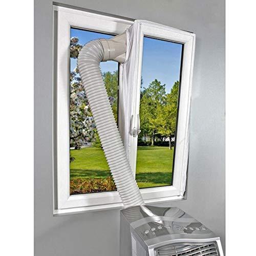 PerGrate Hot Air Stop Conditioner Outlet Fensterdichtungsset für Mobile Klimaanlagen Wohnaccessoires