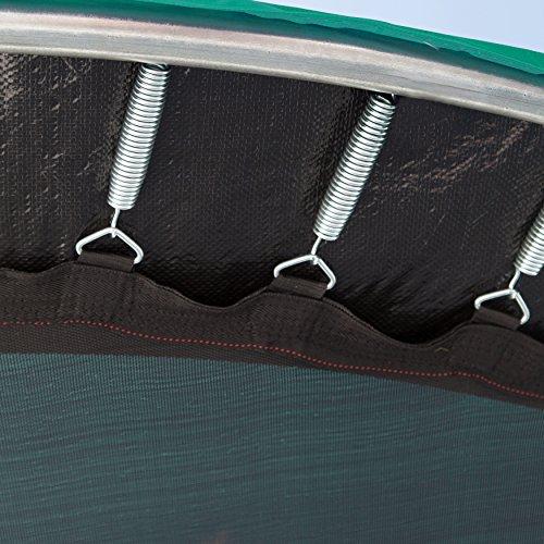 Ultrasport Trampolinsprungtuch für Gartentrampolin Ultrasport Jumper Wave in schwarz, 430 cm -