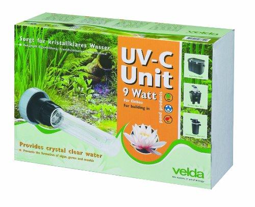 Velda 126570 Ersatz-UV-C Einheit für Elektronische Entferner gegen Grünalgen im Teich, UV-C Unit 9 Watt -