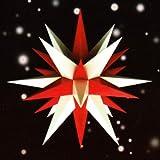 Unbekannt Stern A7 weiß/rot, ca. 68cm, Plastik