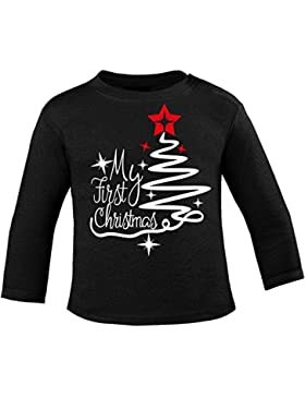 Mikalino Baby Longsleeve My first Christmas