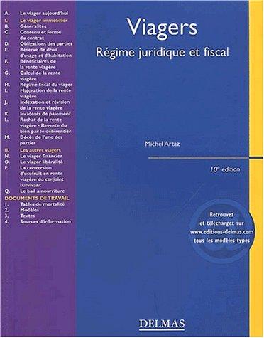 Viager : Régimes juridique et fiscal