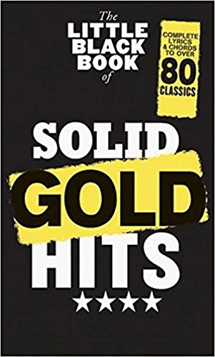 The Little Black Book Of Solid Gold Hits: Songbook für Gitarre -
