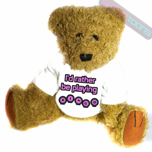 Bingo Addict Geschenk Teddy Bär