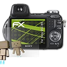 atFoliX Protettore Schermo per Sony DSC-H5 Pellicola a specchio - FX-Mirror Pellicola Proteggi con effetto specchio