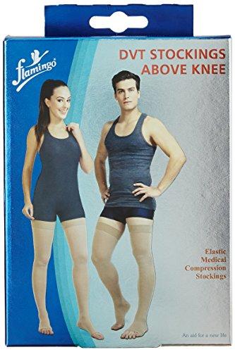 734fea2634 38% OFF on Flamingo Medical Compression D.V.T Above Knee Stockings (III Size,  Medium) on Amazon | PaisaWapas.com