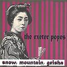 Snow, Mountain, Geisha