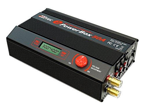 Unbekannt Hitec EPOWERBOX 50A Innen 1200W schwarz, grau-Adapter Leistung & Wechselrichter-Adapter DE Puissance & Wechselrichter (100-240, 1200W, 30V, 50A, 89%, innen)