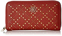 Tommy Hilfiger Savio Womens Wallet (Burgundy)
