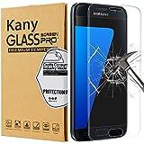 Protector de Pantalla Galaxy S7 Edge, Kany Cristal Vidrio Templado [9H Dureza][3D Touch] [Alta Definicion]- Anti-Explosion/HD-display, anti-oil and fingerprints/0.3mm Screen Protector Film Para Samsung Galaxy S7 Edge