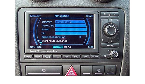Karten Kompatibel Mit Audi Rns E 2017 2018 Navigation Elektronik
