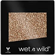 Wet n Wild - Color Icon Eyeshadow Glitter Single - Ombretto Glitter Brillante Singolo Ambrato - Super Pigmenta