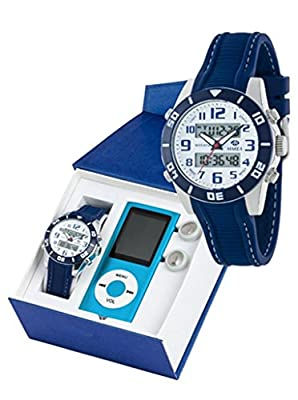 Reloj marea niño b35280/3 analogico digital con reproducto MP4