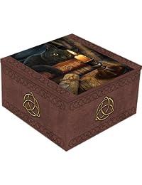 The Witching Hour - Gato con caja de espejo de velas Multicolours - Fantasía - Némesis