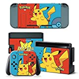 Poke Cover Skin Sticker For Nintend Switch Console&Controller Game Sticker Vinyl Decal Protector Nintendoswitch
