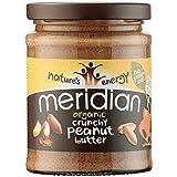Meridian Bio crunchy Erdnussbutter - ohne Zusatz von Zucker-280g