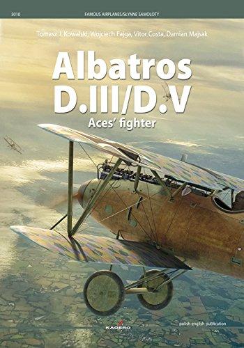 Albatros D.III/D.V: Aces' Fighter (Famous planes) por Tomasz Kowalski
