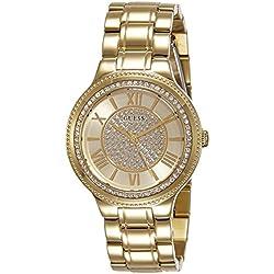 Guess W0637L2 - Reloj con Correa de Metal, para Mujer, Color Dorado