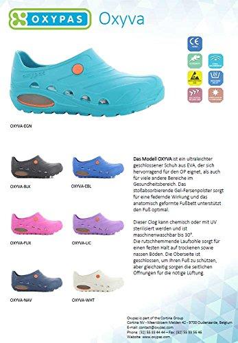 cercare goditi il miglior prezzo Sneakers 2018 Dettagli su Oxypas Oxyva Zoccoli Sanitari Antiscivolo, Sintetico,(EU 39/40  Bianco)