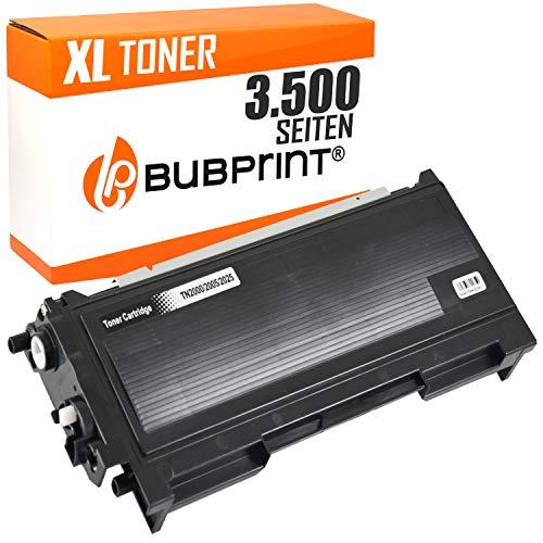 Bubprint Toner kompatibel für Brother TN-2005 TN 2005 TN2005 für HL-2035 HL-2035R HL-2037 3500 Seiten Schwarz -