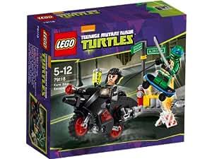 LEGO Ninja Turtles Tm 79118 - Fuga Sulla Moto Di Karai