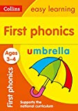 First Phonics Ages 3-4: Collins Easy Learning (Collins Easy Learning Preschool)