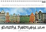 Europa Panorama 2019 (Tischkalender 2019 DIN A5 quer): Europäische Städte aus ungewohntem Blickwinkel. Für diese außergewöhnlichen Panoramen wurden ... (Monatskalender, 14 Seiten ) (CALVENDO Orte)