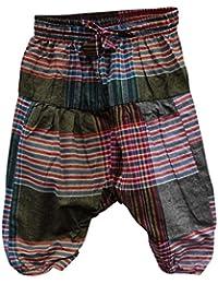 Shopoholic Mode Enfants Hippie Harem En Vrac Boho Pantalon Hippie Vif Enfants Retro Confortable Pantalon