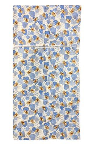 Preisvergleich Produktbild Schlafsack Asyl Sommer blauen Bären Herzen 2–6Jahre