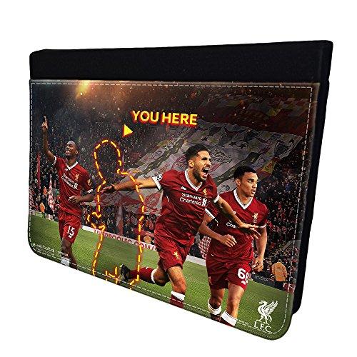 Upic Offizielles LFC Merchandise Personalisierte ipad Fall–Foto, Schwarz